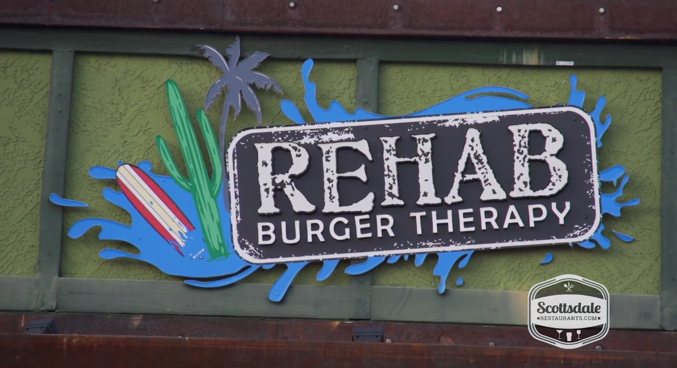 Rehab burger therapy video review scottsdale restaurants for Farm and craft scottsdale