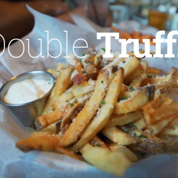 double truffle fries